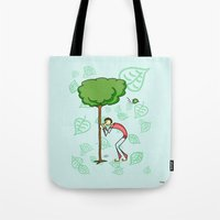 coconut wishes Tote Bags featuring Wishes by Giuseppe Lentini