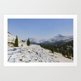 Yosemite National Park - Olmsted Point Art Print