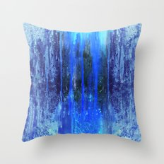 The Sun Is Dripping Down Throw Pillow