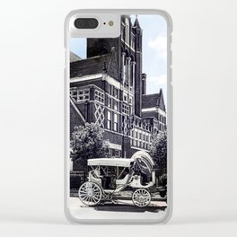 Historic Bardstown Carriage Clear iPhone Case