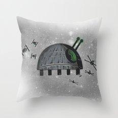 Death Star Bug Throw Pillow