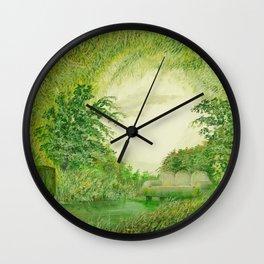 natural room Wall Clock