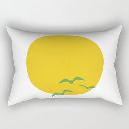 Midsummer Sun Rectangular Pillow
