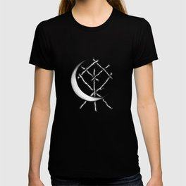 Crescent Moon Rune Binding T-shirt