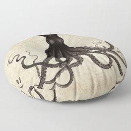 Vintage Octopus Floor Pillow