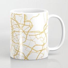 MADRID SPAIN CITY STREET MAP ART Coffee Mug