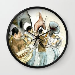 Sousaphone band Wall Clock