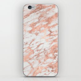 Blush Gold Quartz iPhone Skin