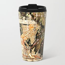 "Kay Nielsen Fairytale Illustration ""Sleeping Beauty"" Travel Mug"