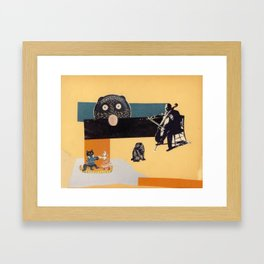 Last dance Framed Art Print