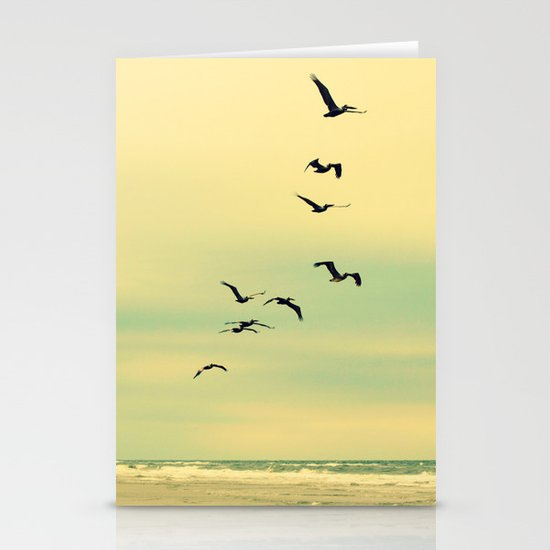 Across the Endless Sea Stationery Cards