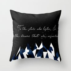 A Court of Mist and Fury Quote Throw Pillow