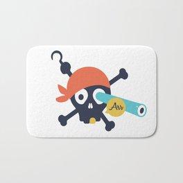 Arr Dead Pirate Bath Mat