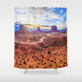 Monument Valley, Utah No. 2 Shower Curtain
