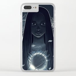 total eclipse of a heart Clear iPhone Case