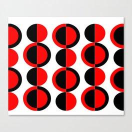 Mod Circles Canvas Print
