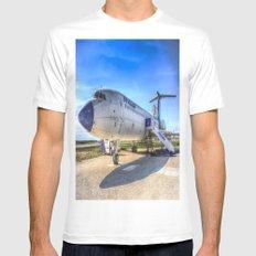 Malev Tupolev TU-154 MEDIUM Mens Fitted Tee White