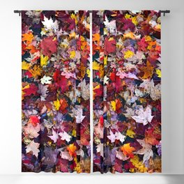 Autumn Leaves 1 Blackout Curtain