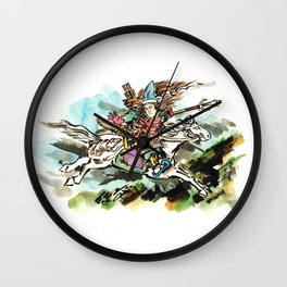 Tomoe-Gozen Wall Clock