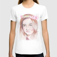karen hallion T-shirts featuring Karen Gillan by Gillian McMahon