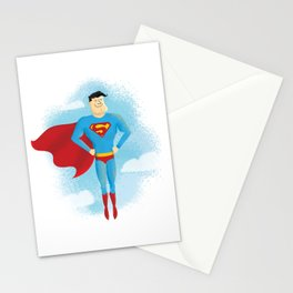 Look! Up in the sky! Stationery Cards