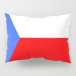 flag of Czech 2 -Czechia,Česko,Bohemia,Moravia, Silesia,Prague. Pillow Sham