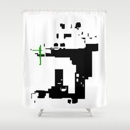 Panda Chow 2014 Shower Curtain