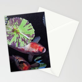 Under The Lily Pad Stationery Cards