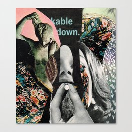 kable down  Canvas Print