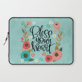 Pretty Not-So-Swe*ry: Bless Your Heart Laptop Sleeve