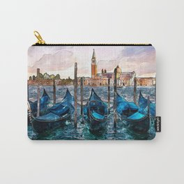 Gondolas in Venice Carry-All Pouch
