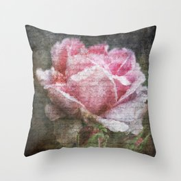 Vintage Roses - English Rose Throw Pillow