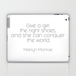 As told by Marilyn #3 Laptop & iPad Skin