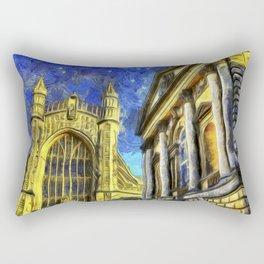 City Of Bath Vincent Van Gogh Rectangular Pillow