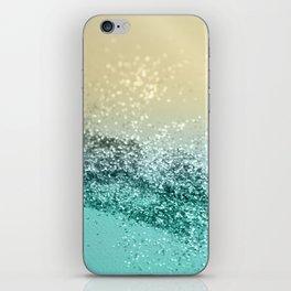 Lemon Twist Beach Glitter #2 #shiny #decor #art #society6 iPhone Skin