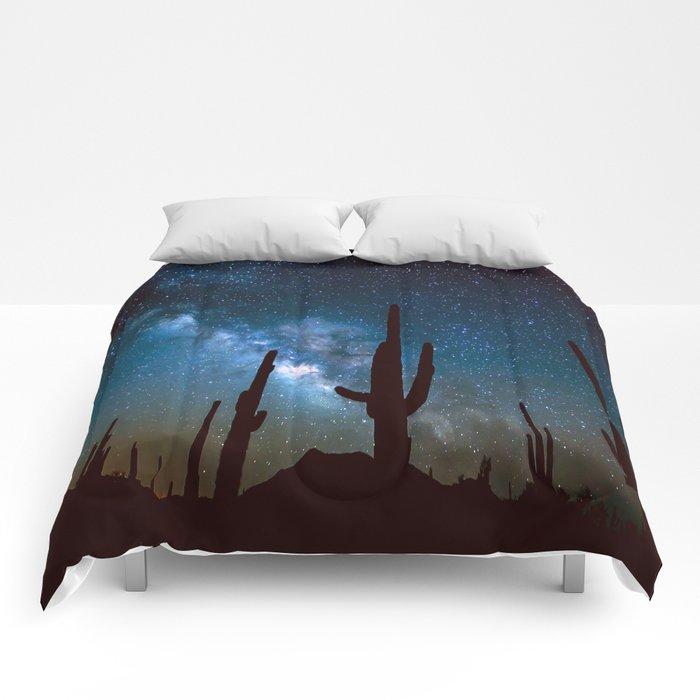 Milky Way Cacti Comforters