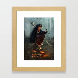 Caim Framed Art Print