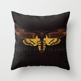 Hannibal Death's-head Hawkmoth  Throw Pillow