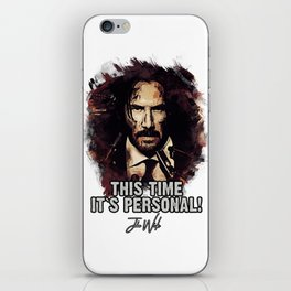 It`s Personal - Wick iPhone Skin