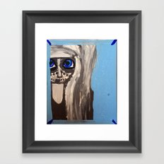 The Window to the Soul Framed Art Print