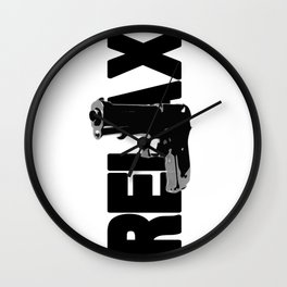 RELAX. Wall Clock