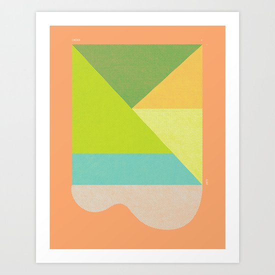 LINCOLN SLOAT SUN Art Print