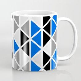 Triangular Vitrail Mosaic Pattern V.04 Coffee Mug