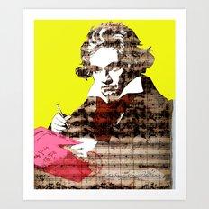 Ludwig van Beethoven 3 Art Print