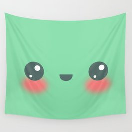 Kawaii Kiwi Wall Tapestry