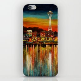 Seattle from Alki iPhone Skin