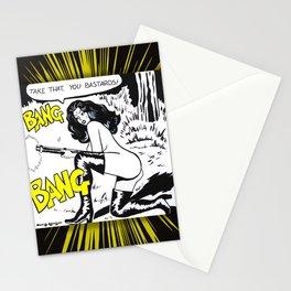 Bang Bang Bastards Stationery Cards