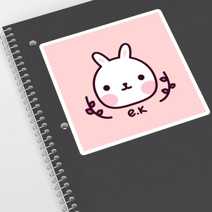 Escudo Kawaii Sticker