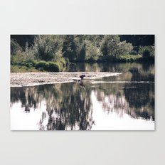 Lake Somewhere Canvas Print