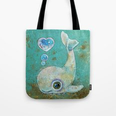 Baby Whale Tote Bag